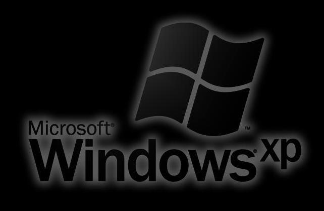 Windows XP Black Logo